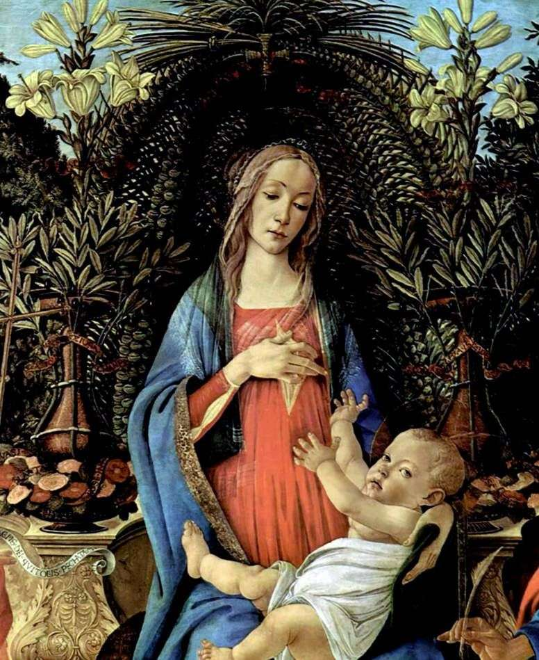 Madonna Bardi   Sandro Botticelli