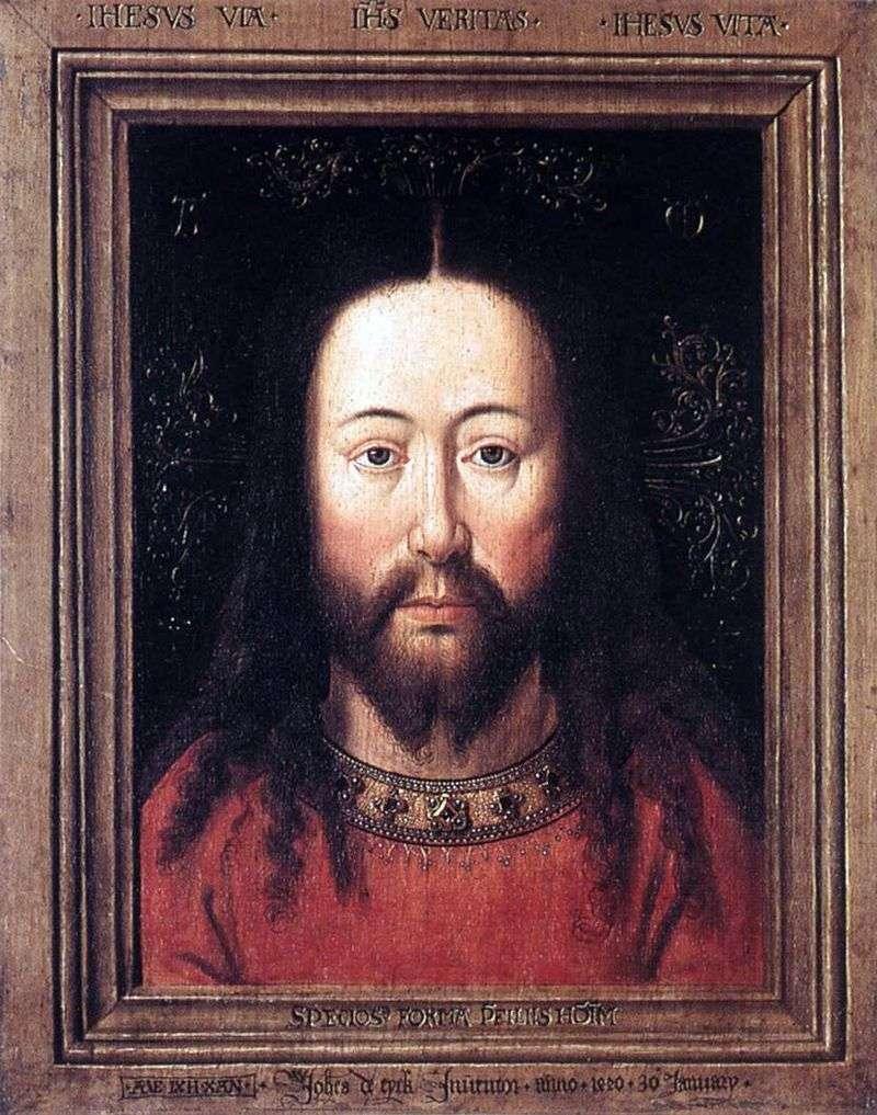 Portret Chrystusa   Jan van Eyck
