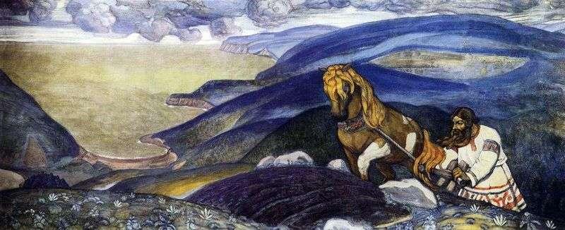 Mikula Selyaninovich   Nicholas Roerich