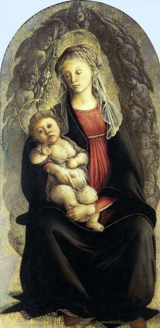 Madonna w chwale   Sandro Botticelli