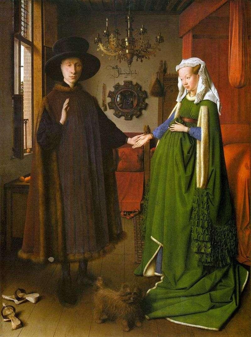 Portret pary Arnolfini   Jan van Eyck
