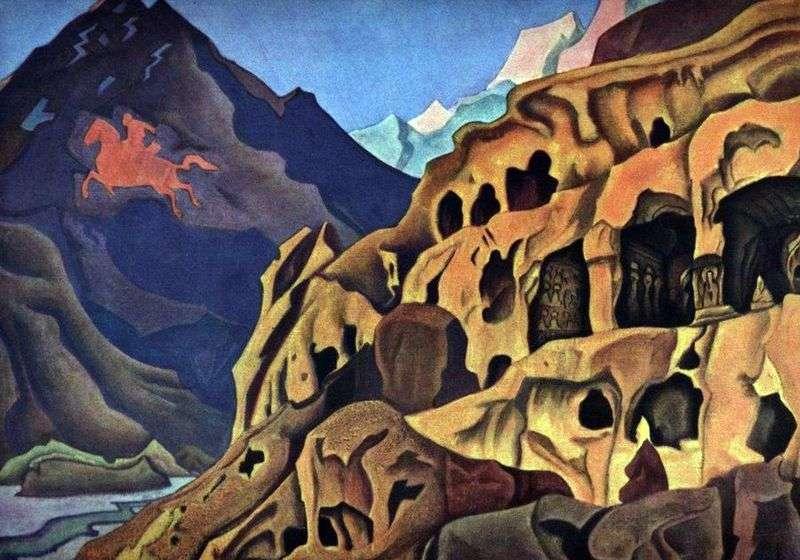 Moc jaskiń   Nicholas Roerich