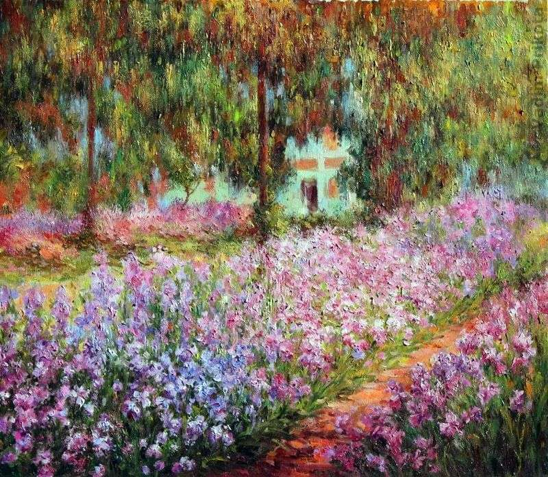 Ogród artysty w Giverny   Claude Monet