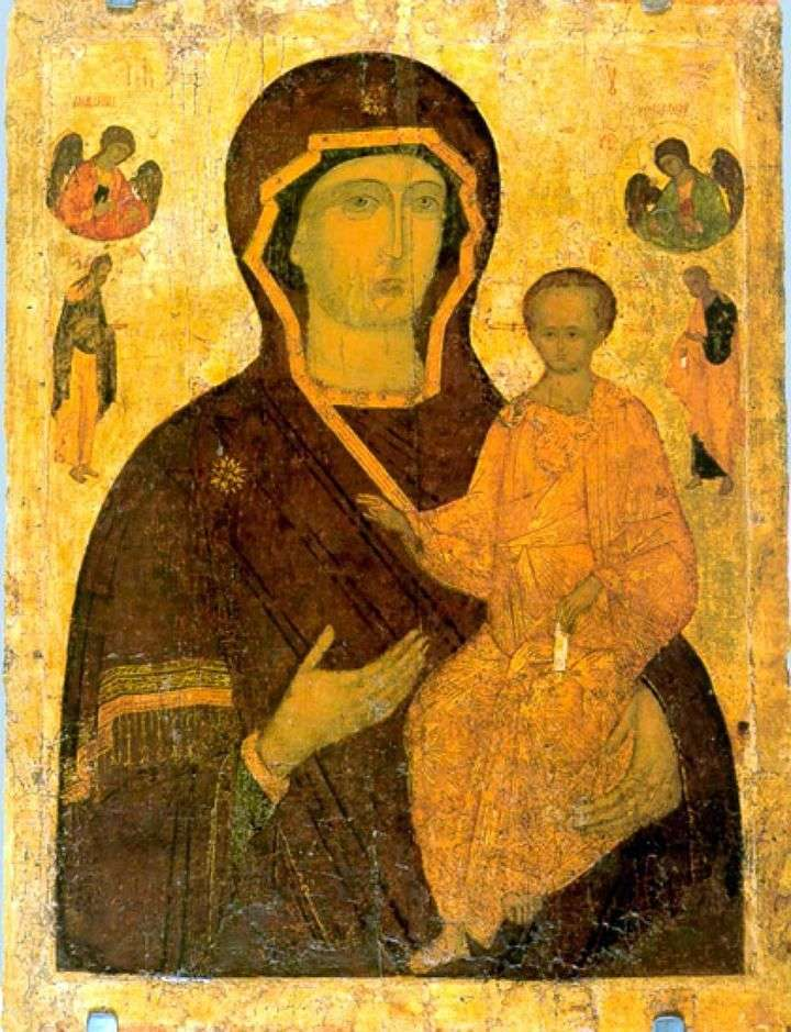 Virgin Hodegetria   Dionizjusz