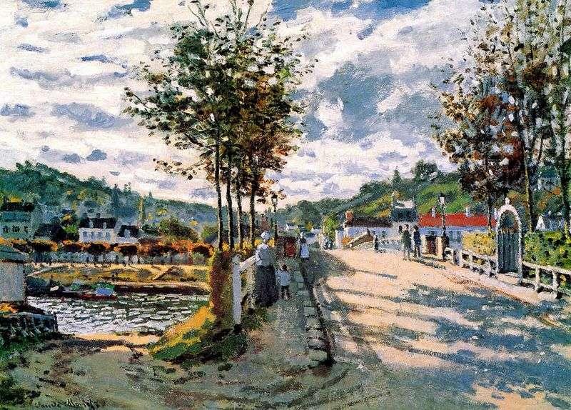 Sekwana w pobliżu Bougival   Claude Monet