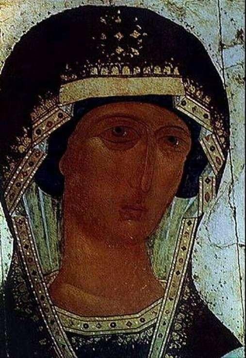 Obraz Matki Boskiej Odigitrii   Dionizego