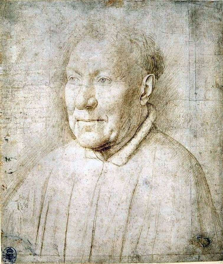 Studium męskiego portretu   Jan van Eyck