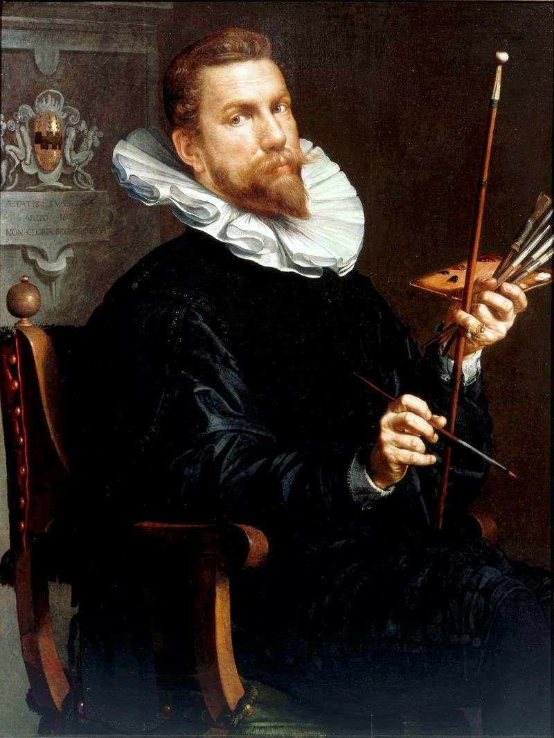 Autoportret   Joachim Eyteval