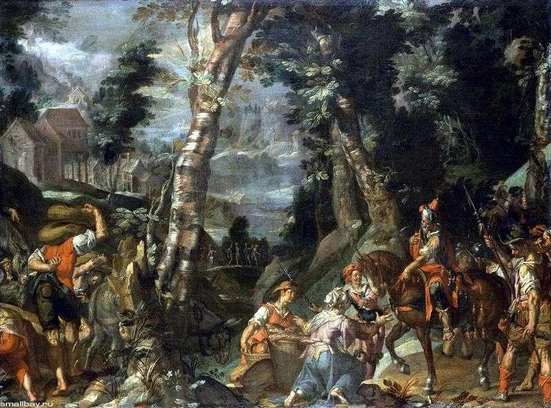 Spotkanie Dawida i Abigail   Joachim Eyteval