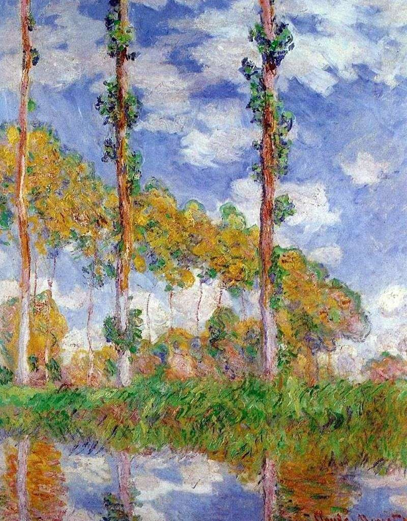 Seria poplarowa   Claude Monet