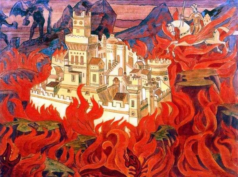Najczystsze Zdrowaś   Gniew wrogom   Nicholas Roerich