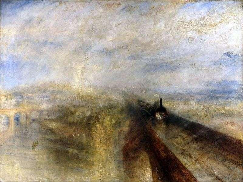 Deszcz, para i prędkość. Great Western Railway   William Turner