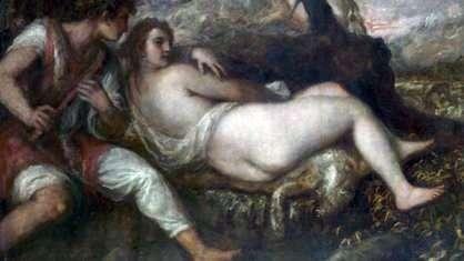 Nimfa i Pasterz   Titian Vecellio