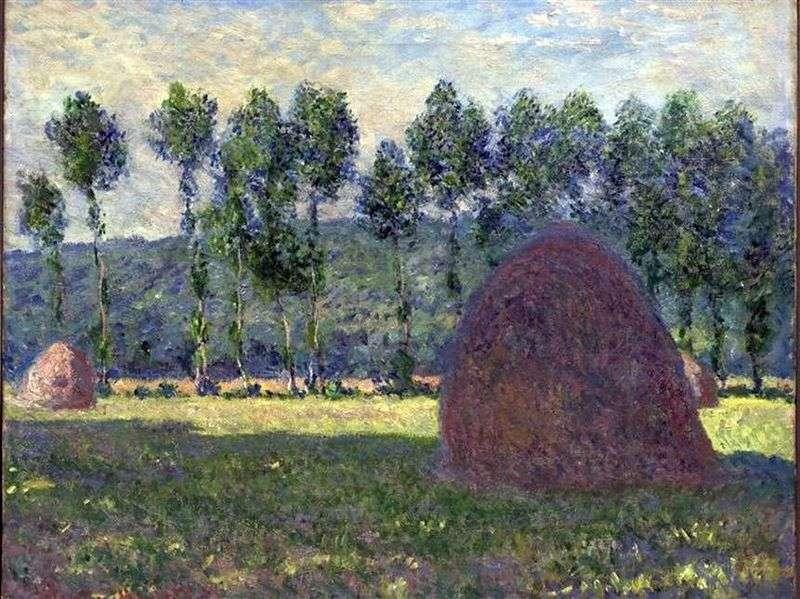 Haystack   Claude Monet