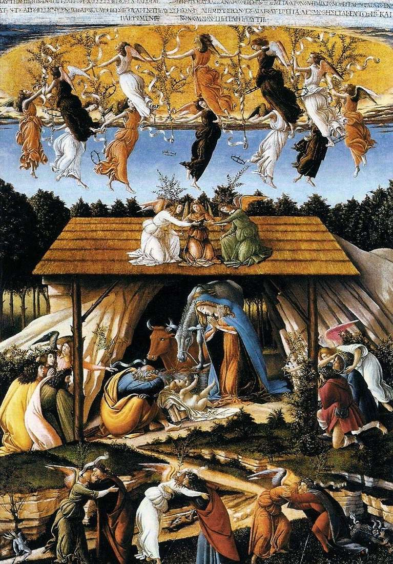 Mystical Christmas   Sandro Botticelli