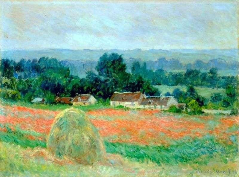 Haystack w Giverny   Claude Monet