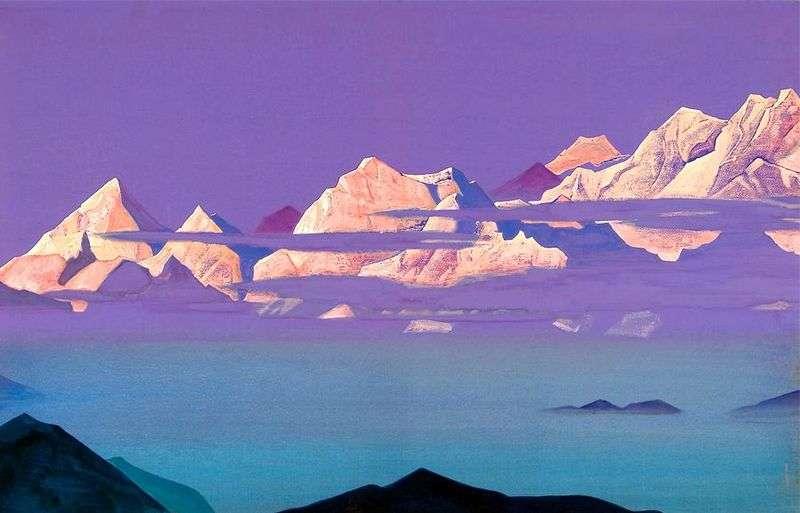 Różowe góry   Nicholas Roerich