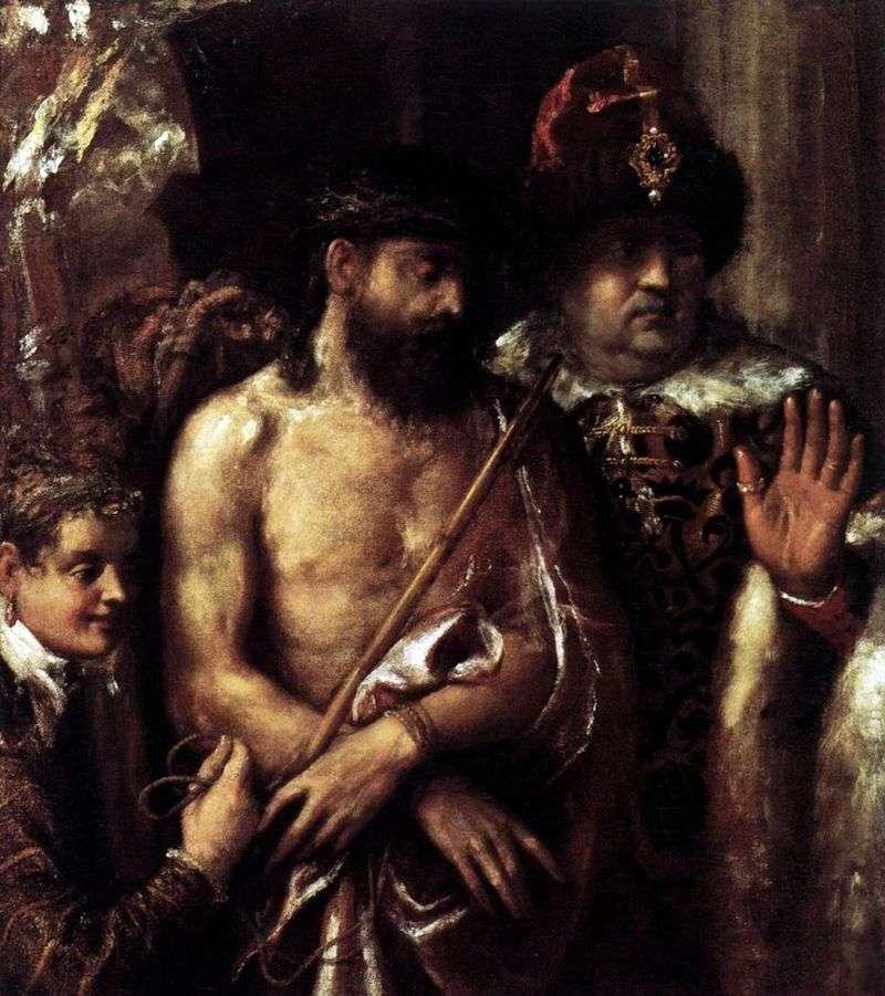 Kpina (zarzut) Chrystusa   Tycjana Vecellio