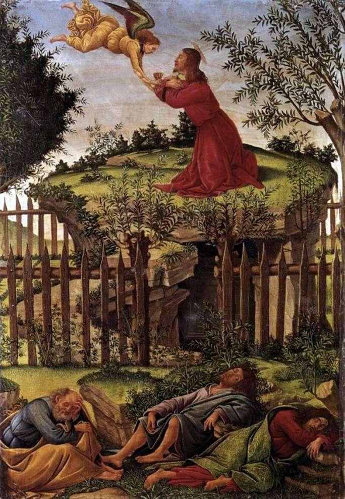 Modlitwa za misę   Sandro Botticelli