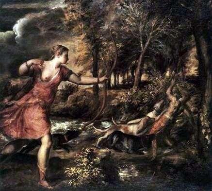 Dianas Hunt   Titian Vecellio