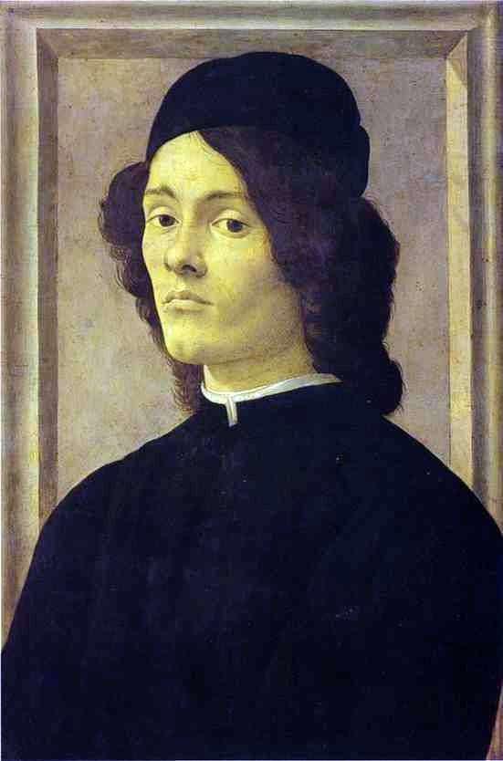 Portret mężczyzny   Sandro Botticelli