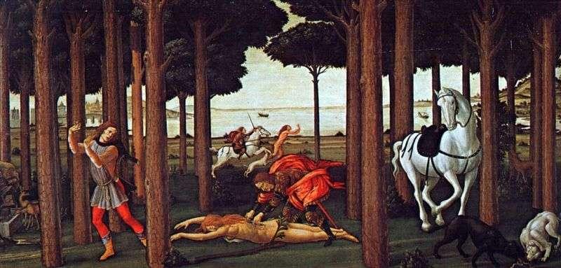 Nokla Boccaccio Nastajo degli Onesti Drugi odcinek   Sandro Botticelli