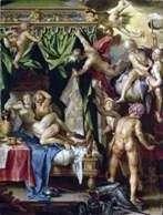 Mars i Wenus złapani przez bogów   Joachim Eyteval