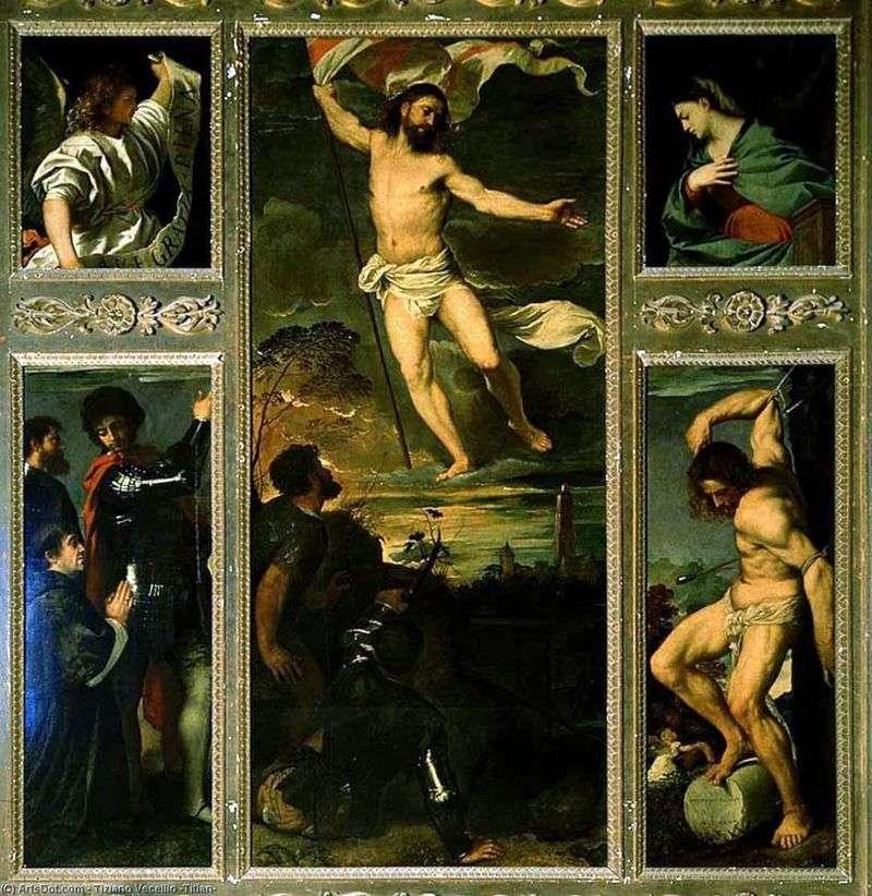 Wskrzeszenie poliptyku   Titian Vechelio