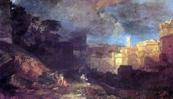 Dziesiąta kara egipska   William Turner