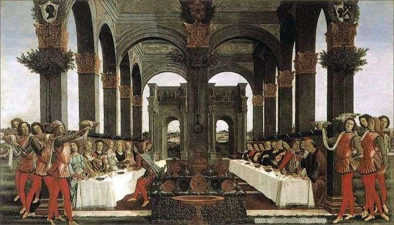 Nokla Boccaccio Nastajo degli Onesti czwarty odcinek   Sandro Botticelli