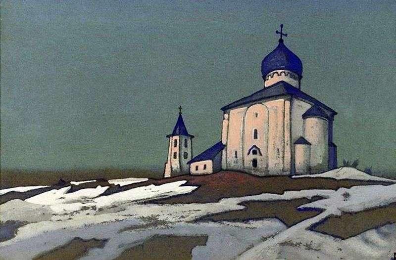 Zbawiciel Nereditsa   Nikołaj Roerich