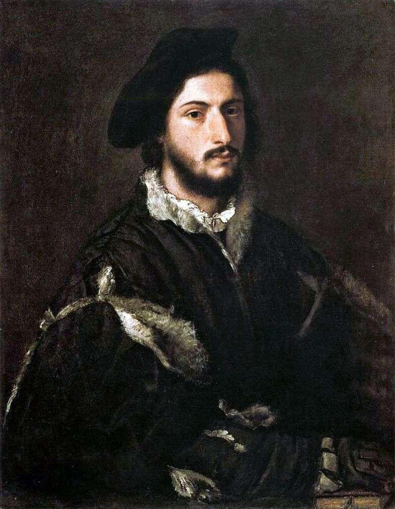 Portret Vicenzo Mosti   Titian Vecellio