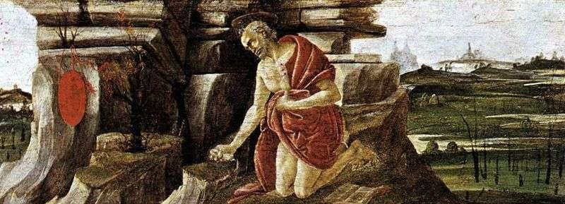 Pokuta św. Hieronima   Sandro Botticelli