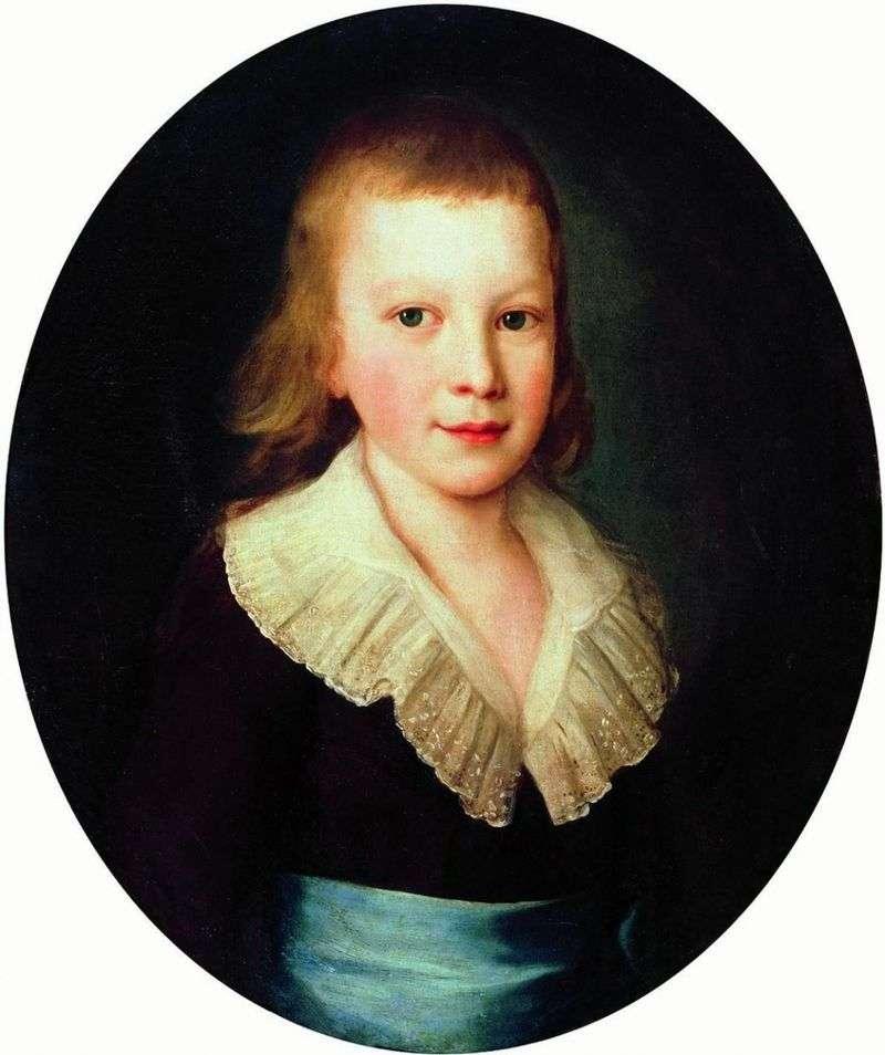 Portret chłopca   Peter Drozhdin