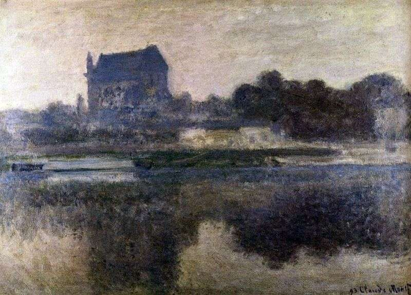 Kościół we mgle   Claude Monet