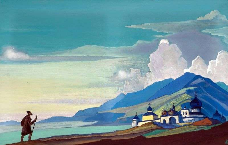 The Wanderer of the Light City   Nicholas Roerich