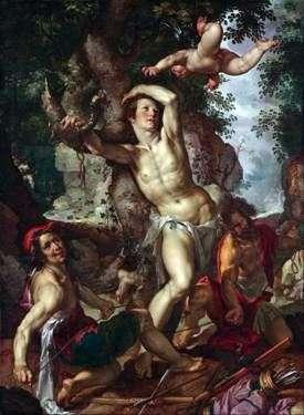 Śmierć świętego Sebastiana   Joachim Eyteval