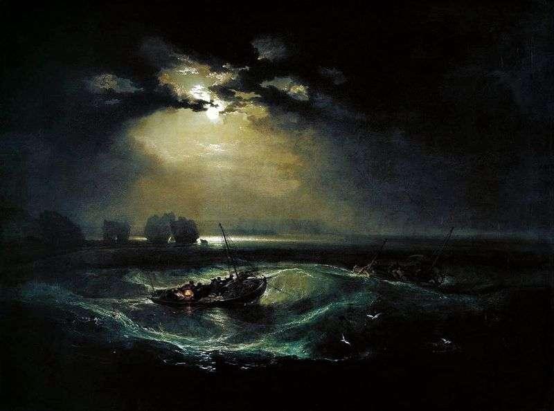 Rybacy nad morzem   William Turner