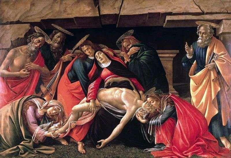 Tombstone   Sandro Botticelli