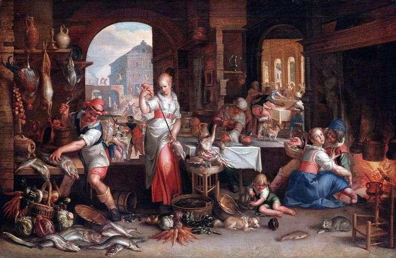 Scena kuchenna   Joachim Eyteval