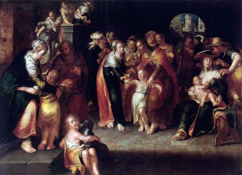 Chrystus i dzieci   Joachim Eyteval