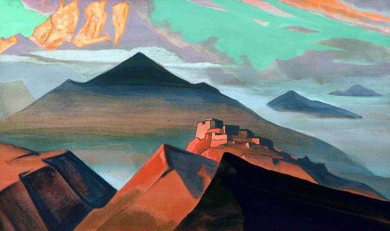 Namiot Mountain   Nicholas Roerich