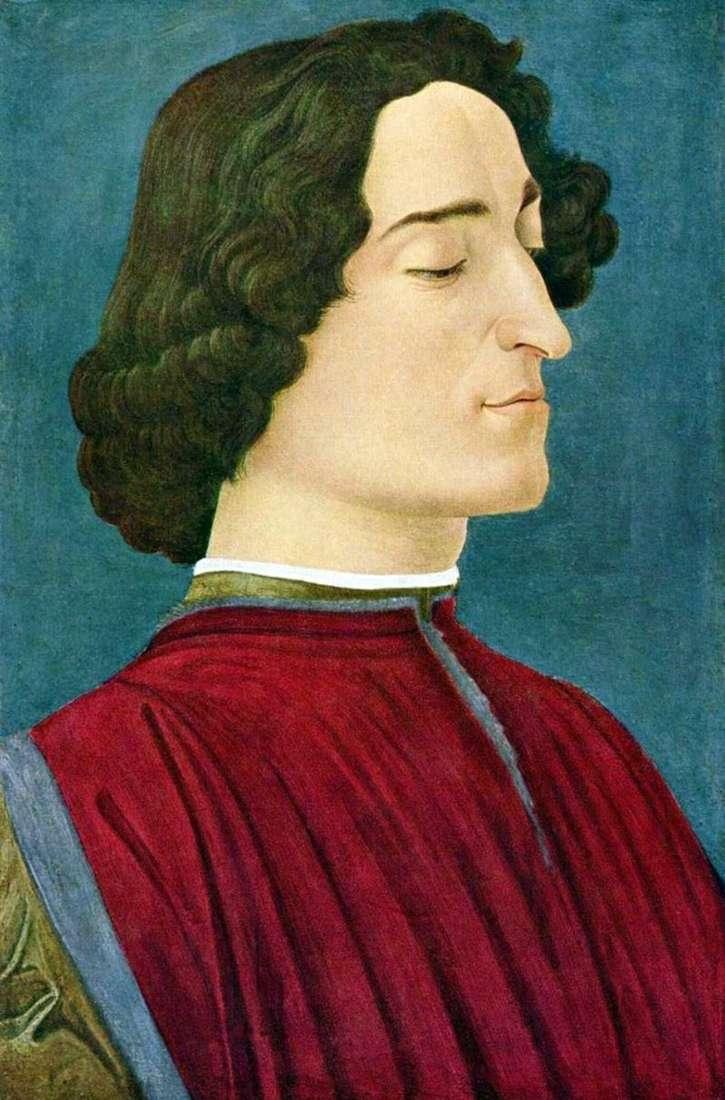 Portret Giuliano Medici   Sandro Botticelli