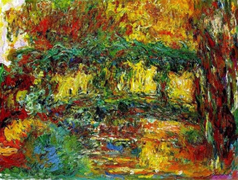 Japanese Bridge   Claude Monet
