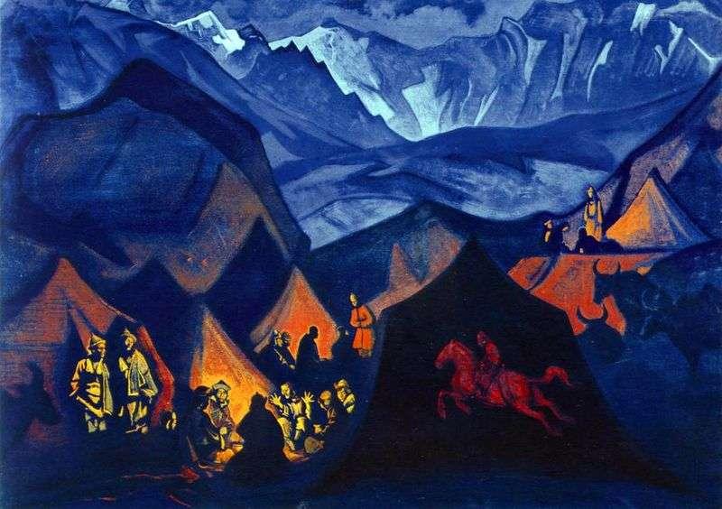 Szepty pustyni   Nicholas Roerich
