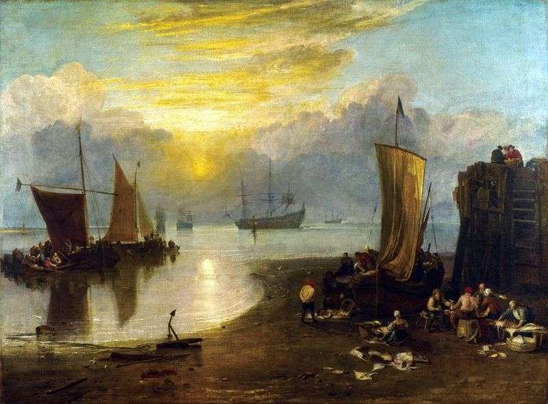 Słońce wschodzi we mgle   William Turner