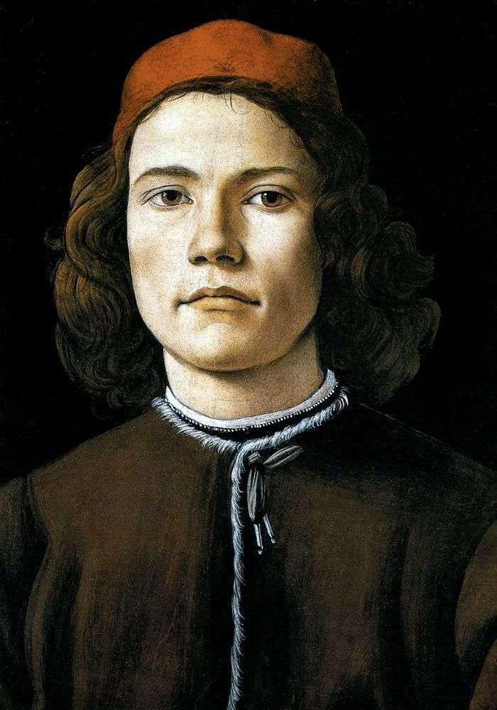Portret młodego mężczyzny   Sandro Botticelli