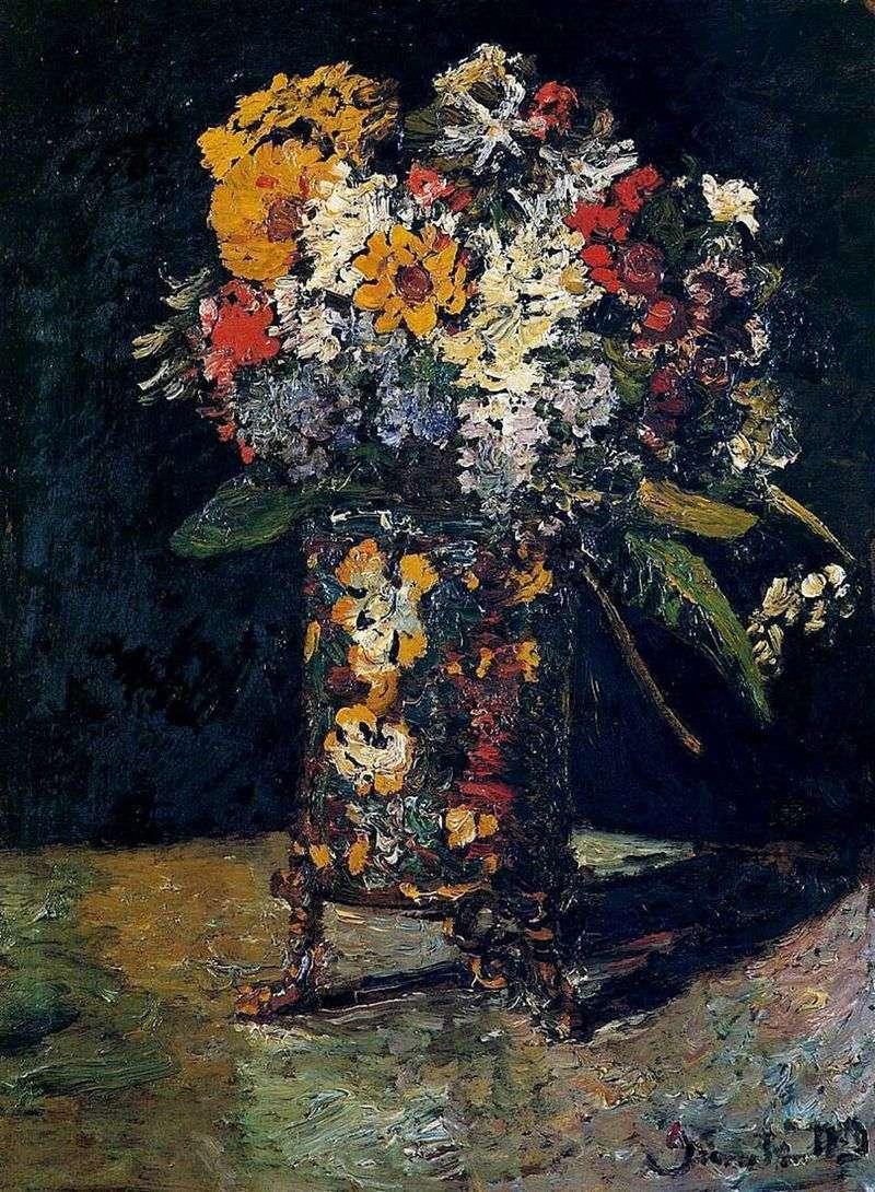 Bukiet kwiatów   Adolphe Monticelli