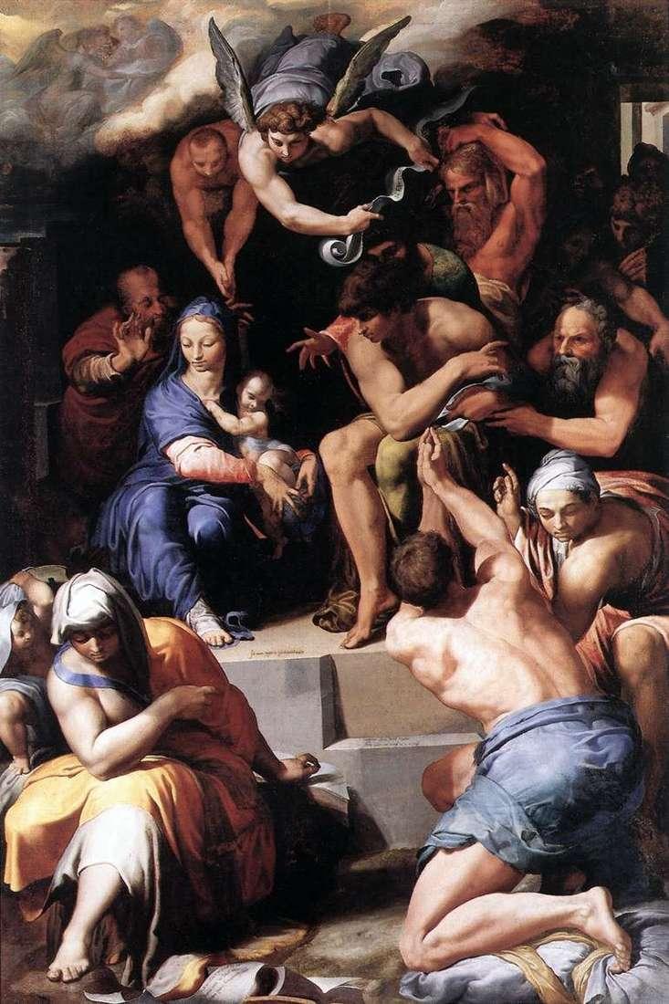 Adoracja niemowlęcia Chrystusa   Pellegrino Tibaldi