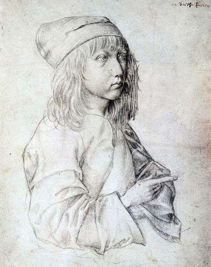 1484 Autoportret   Albrecht Dürer